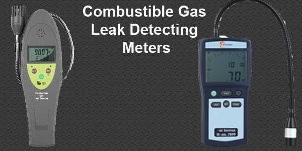 Gombustible Gas Leak Detectors